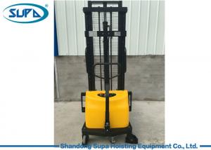 China Semi Electric Hydraulic Pallet Jack , Hydraulic Pallet Stacker DC Motor Power Source on sale