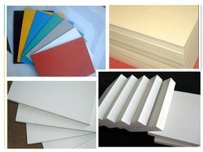 China interior decoration plastic false ceiling PVC faom board with favourable prices 1-30mm on sale