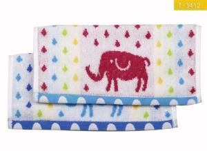 China Pure Cotton Jacquard Wash Cloth Children Towel on sale