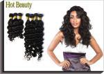 Extensões brasileiras Brown do cabelo humano do Virgin, cabelo grande da onda de Remy