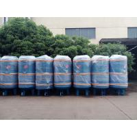 China 1000L industrial carbon steel air tank for stationary screw air compressor on sale
