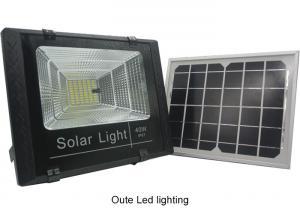 China High Power Motion Sensor Solar LED Flood Lights With On Off Switch Custom Made on sale