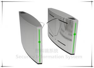 China Newest design high quality full automatic access control flap gate turnstiles on sale