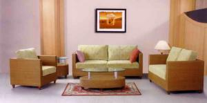 China TF-9061 Luxury rattan office sofa set on sale