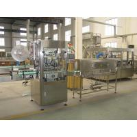 Low Noise Bottle Labeling Machine Shrink Sleeve Applicator Machine