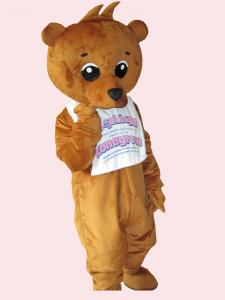 Quality lovely bear mascot party cartoon costume for party use  for sale