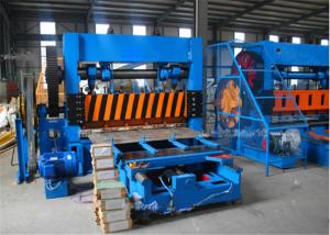 China 2.0mm Sheet Thickness Expanded Wire Mesh Machine With Automatic Lubricating System on sale