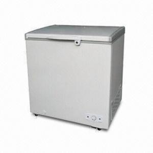 Single Solid Door Top Open Chest Freezer With Lock/Key And LG Compressor