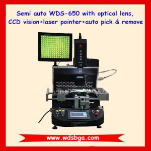 China Promotion! Semi auto laser optical WDS-650 bga rework station on sale