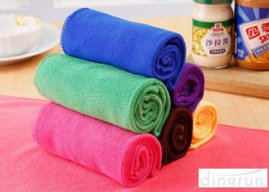 China Household Microfiber Cleaning Towels Kitchen Use 70*50cm Strong Water Absorption on sale
