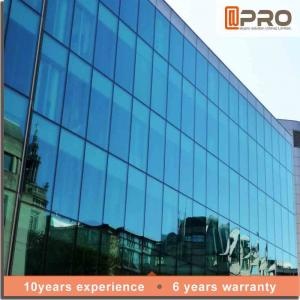 China Explosion Proof Aluminium Curtain Wall With EPDM Gaskets And Thermal Break Sealant on sale