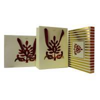 OEM Pashma 210g Art Paper Shopping Bag With Matt Lamination, Logo Stamp