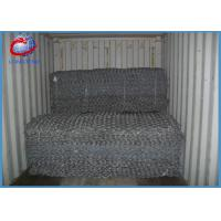 China Simple Installation Gabion Rock Wall Cages Weather Proof For Rock Fall Protection on sale