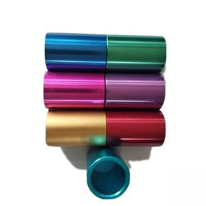 China Colored 80mm 300mm 350mm 240mm Powder Coated Aluminium Tube on sale