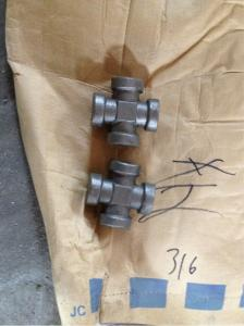 China Cross Tee Hydraulic Adapter Fittings on sale