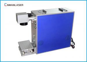 China 110v 220v Fiber LaserMarkingMachine20W For Steel Name Cards Metal on sale