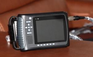 Quality 3.5 MHz Convex Probe B / W Palm Ultrasound Scanner Animal Ultrasonic Device for sale