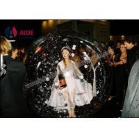 Transparent Pvc Inflatable Ball Game / Advertising Inflatable Dance Giant Bubble Ball