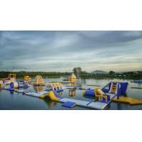 BALI Giant Inflatable Floating Water Parks Manufacturer / Bouncia Aqua Park