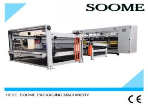 China 160 PCS / Min Computerized Slitter Scorer Maccardboard Slitting Machine With Stacker And Paper Collection on sale
