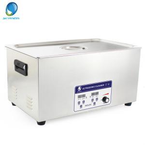 China máquina rápida rápida de la limpieza ultrasónica de la entrega del aceite limpio 22L para las piezas del arma on sale