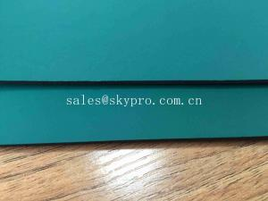China Anti - Shock Recycled Rubber Sheet / Embossed Surface Rubber Mat For Cars on sale