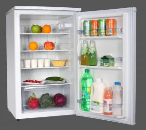 China 120 Liter Built In Larder Fridge / Under Worktop Larder Fridge Three Shelves on sale