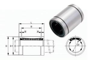 China Stainless Steel Linear Slide / Bushing / Linear Motion Ball Bearing with low noise on sale