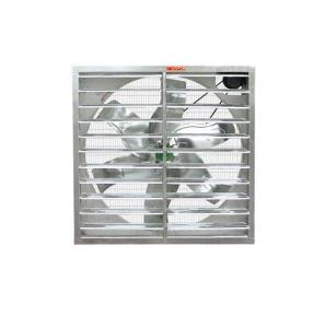 China galvanized steel big wall mounted belt drive exhaust fan on sale