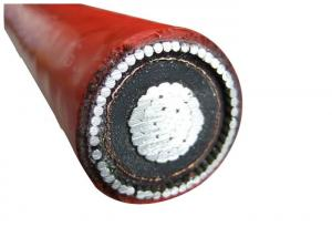 China CTS Al Wire Armoured Electric Cable High Voltage Aluminum Power Cable Single Phase For Underground Use on sale