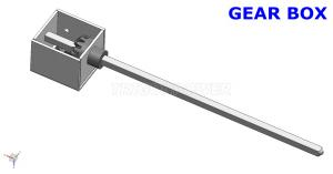 China Convenient Instal Stainless Steel Spit Rod , SGB01 BBQ Spit Accessories For Chicken on sale