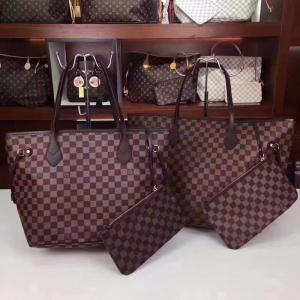 613c06b214f6 China Louis Vuitton Classic Shopping Bag Imported original PVC fabric that  can patina