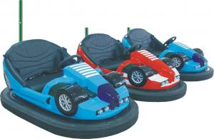 China Children Amusement Park Facilities , Galvanized Steel Indoor Electric Bumper Cars on sale