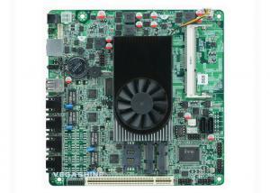China Mini-Itx  4 LAN Firewall Motherboard Onboard Atom d525 Processor on sale