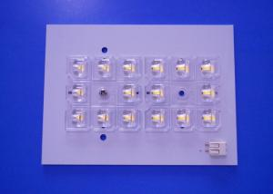 China Aluminium Material Led Smd Pcb 1 Layer Customized PCB Plate Solar Lamp White Color on sale