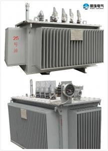 China 6.6 KV - 250 KVA Oil Immersed Transformer Oil Cooled Transformers Safety on sale