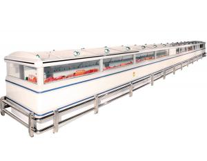 China Prefabricated Supermarket System Project Intelligent With kinds of Freezers on sale