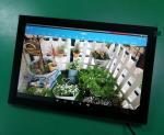10.1 Inch Proximity Sensor Octa Core Advertising Player With Kiosk Model Inwall Mount