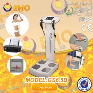 China gs6.5b health care body elements test body analyzer machine on sale