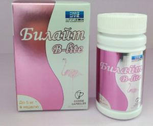 China Билайт B-lite  60  slimming capsules B lite weight loss Supplements Fast Diet Pills on sale