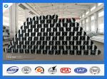 40FT 11900mm 3mm Thick Octagonal Galvanized Electric Steel Poles