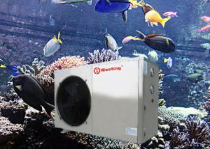 China Seafood Farm Air To Water Heat Pump For Fish Pond Water Heaters on sale