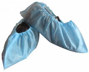 China Couverture antidérapante de chaussure du Non-Woven pp de produits textiles médicaux jetables de CPE Shoecover on sale