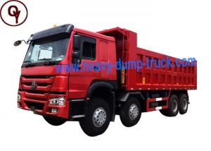 China Sinotruk Howo Steyr 420hp 12 Wheels 8x4 Heavy Tipper Dump Truck on sale