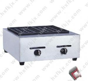 China Double Plate Takoyaki Gas Machine on sale