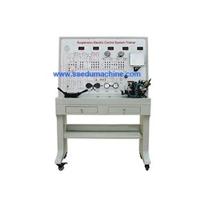 China Suspension Electronic Control  System Demonstration Board Suspension Teaching Equipment on sale