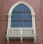2019 factory direct sale durable concrete windows for living room