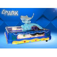 China 3d clear fishing pond kiddies entertainment game machine on sale