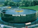 Double Coating Circular Sedimentation Tank Gas Liquid Impermeable Permeability