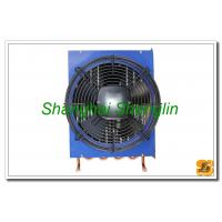 Hot Water Φ12.7mm Copper Tube Air Cooled Heat Exchangers Include Fan